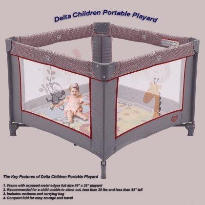 delta children playpen