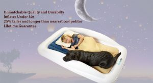 The Greatest Toddler Travel Bed: How hiccapop Inflatable Toddler Travel Bed