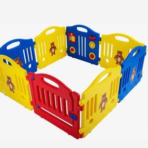 New Baby Playpen Kids 8 Panel: