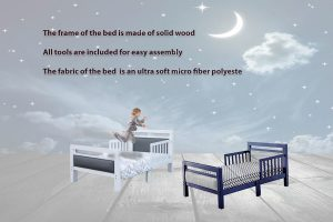 Our Runner-Up Pick: Orbelle Trading Padded Toddler Bed