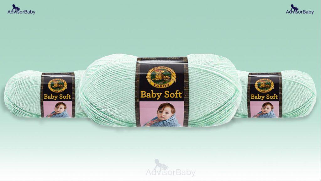 10. Lion Brand Yarn 920 168 Babysoft Yarn